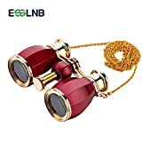 ESSLNB Opera Glasses Binoculars 4X30 Theatre binoculars with Chain and Case Optical Glass