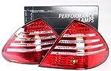 LED Rückleuchten Set Rücklicht rot weiss W211 Limousine 02-06