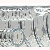 Saugschlauch Spiralschlauch Stahlspirale Abwasserschlauch transparent (Meterware) 32mm