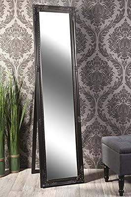 Standspiegel Spiegel schwarz AMELIA 160 x 40 cm
