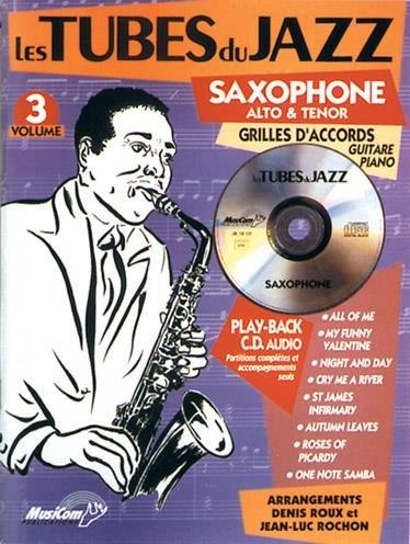 Tubes du Jazz saxophone Vol 3 (+ 1 cd)