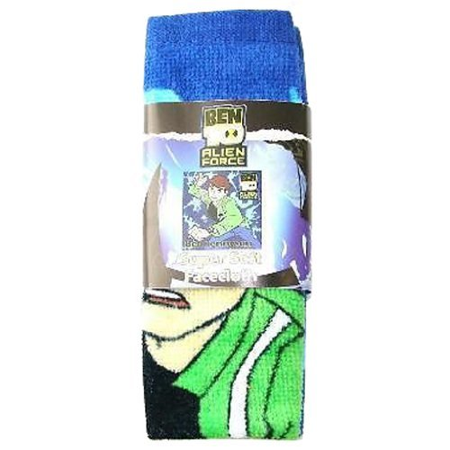 Image of BEN 10 Alien Force Super Soft Face Cloth 100% Cotton