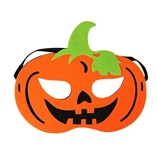 Halloween Maske Dekorative Kürbis Piraten Skelett Kopf Filz Cosplay Maske Maskerade Maske für Kinder