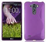 LG G3 MINI / G3s Silikon-Hülle in LILA von Cadorabo -