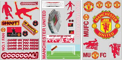 manchester-united-fc-wall-sticker-pack