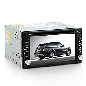 SHOPINNOV Autoradio multimedia DVD GPS Tactile 2DIN 6.2 pouces Android 4.2 Bluetooth WiFi 3G