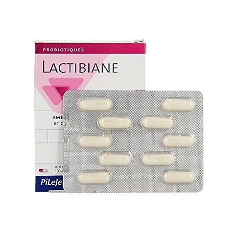 Pileje Lactibiane Référence 10 gélules de 596 mg