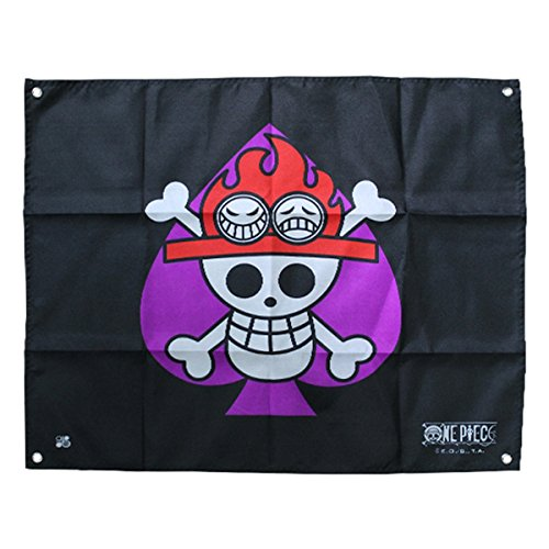 ABYstyle-ABYDCT018-Bandiera di One Piece-Ace, 50 x 60 cm