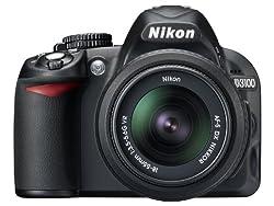 Nikon D3100 DSLR Camera with 18-55mm VR Lens