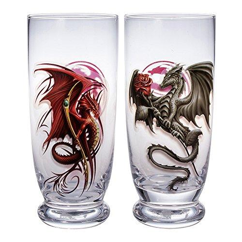 Bicchieri Per Acqua Wyvern Spiral Direct (Set da 2)- Taglia Unica