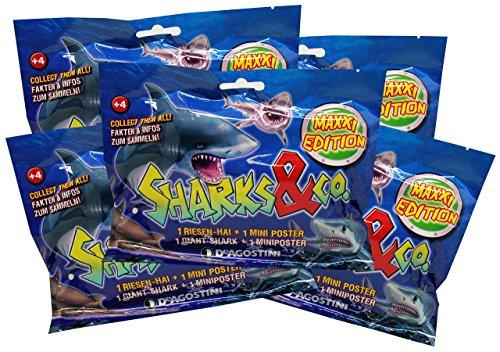 Unbekannt Sharks & Co Maxxi Edition - Sammelfiguren (5 Tüten) -