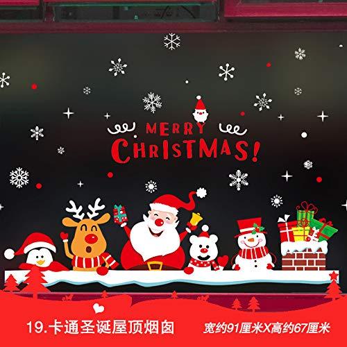 Decoraciones Navideñas, Árboles De Navidad, Personas Mayores Que Decoran Ventanas, Puertas De...