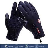 Touchscreen Handschuhe, Icesnail Winddicht Fahrradhandschuhe Laufhandschuhe, Rutschfest Outdoor-Sport Handschuhe Wasserdicht Trainingshandschuhe