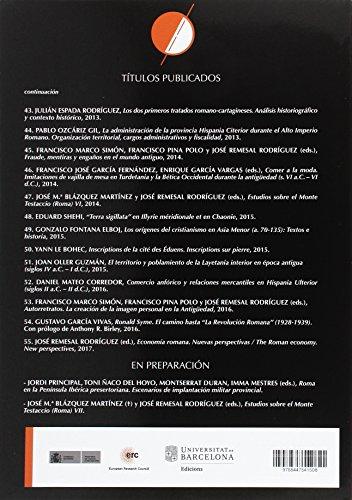 ECONOMÍA ROMANA, NUEVAS PERSPECTIVAS THE ROMA (INSTRUMENTA)