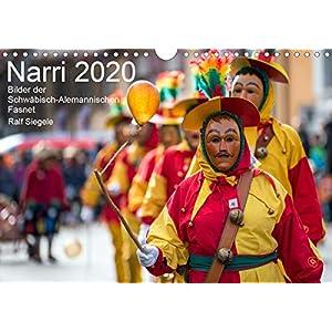 51yopEJvPUL. SS300  - Narri 2020 Bilder der Schwäbisch-Alemannischen Fasnet (Kalender, quer)