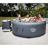 XINGLIEU Spa Whirlpool 4 Personen Aussenwhirlpool aufblasbar Wasserpflege 196 x 71 cm