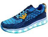 Mr.Ang LED Leuchte Schuhe Herren Damen USB Lights Sneakers Licht Sport Schuhe Atmungsaktiv Fläche Turnschuhe