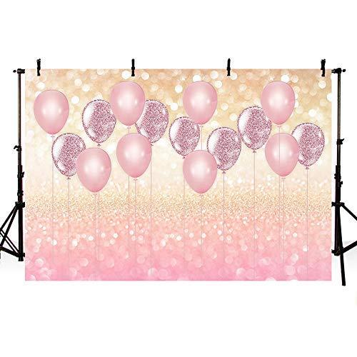 Mehofoto Fotohintergrund Baby Happy Birthday, Partybanner Royal Celebration Hintergrund für Fotografie