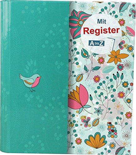 """RNK 46704 Ringbuch, für DIN A5 mit Register A-Z,\""""Frühlingserwachen\"""""""