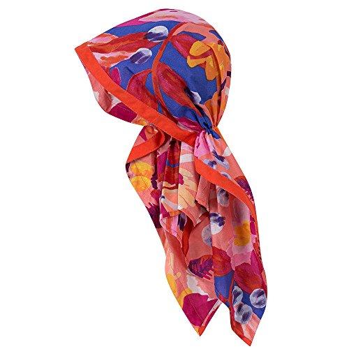 Catimini M & # x160–dchen, Bandana rouge, coloré, floraler Impression Rouge
