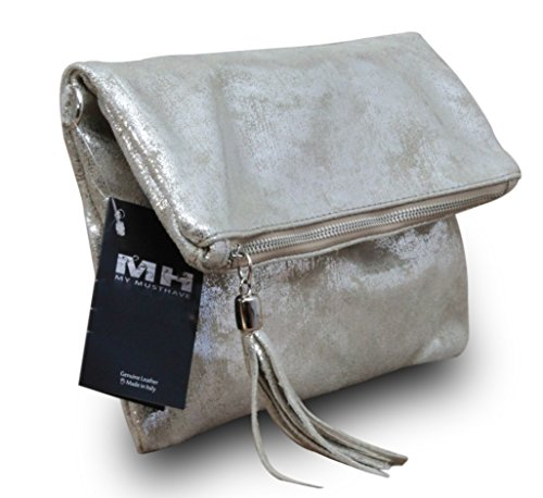 My-Musthave, Borsa a spalla uomo Blu Modell 2 Medio Modell 1