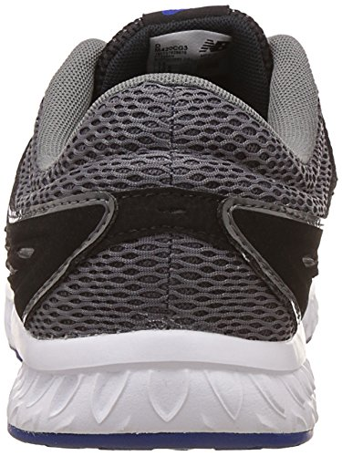 New Balance 420, Baskets Homme, Black/Castlerock Noir (Black/grey)