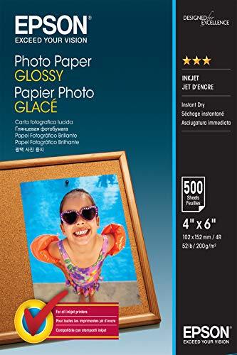 Epson Photo Paper Glossy - Papel fotográfico