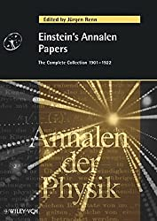 Einstein's Annalen Papers. The Complete Collection 1901-1922