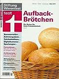 Stiftung Warentest - Aufbackbrötchen - 3/2011