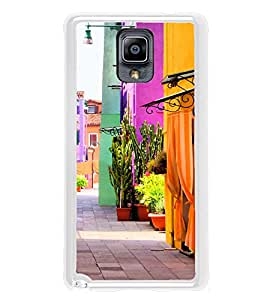 Colourful Street 2D Hard Polycarbonate Designer Back Case Cover for Samsung Galaxy Note 3 :: Samsung Galaxy Note III :: Samsung Galaxy Note 3 N9002 :: Samsung Galaxy Note N9000 N9005