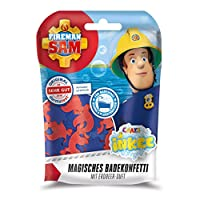 CRAZE INKEE Magic Scented Confetti Fireman Sam Bathing Fun for Kids 12499, Multicolor