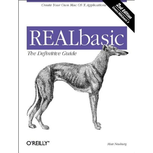 Realbasic : The Definitive Guide. 2nd edition