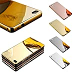 Aluminum frame + PC back cover with UV process Inner padding protects phone from scratches Detachable design for easy installation Provides 360 degree protection Colour : GOLD Detachable design for easy installation Material : Metal