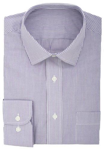 Ex Store, aus Baumwolle, schnell Bengal Gestreiftes Hemd Purple (Hemd Gestreiften Bengal)