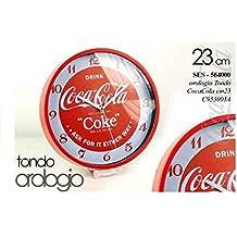 OROLOGIO TONDO DA PARETE COCA COLA 23 CM