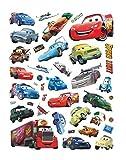 Kibi Stickers Muraux Cars Disney Wall Decal Enfants Chambre Bébé Décoration Autocollants Muraux Cars Disney stickers Muraux Personnalisé Stickers Mural Cars Stickers Muraux Fenêtre Amovible