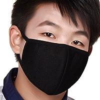 Masque Bouche Extérieur Anti-poussière et Anti-haze PM2.5 Mince Respirant Anti-Bactérienne Masque Anti-bactérienne Respiratoire Soins de Santé Bouche Visage