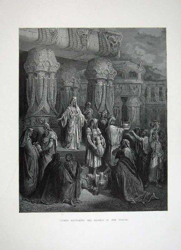 bible-1870-de-dore-cyrus-reconstituant-des-beaux-arts-de-temple-de-navires