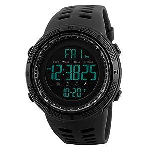 Reloj Digital, para Hombre, para Actividades al Aire Libre, Deportivo,