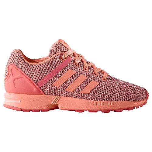 adidas Unisex-Kinder Zx Flux Split K Sneakers, Lachs, 37 1/3 EU