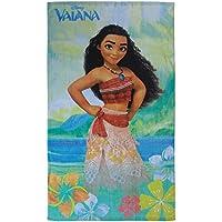 CTI 043974 Drap de Plage Vaiana Aloha Coton Vert 120 x 70 cm