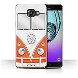 Coque de Stuff4 / Coque pour Samsung Galaxy A5 (2016) / Rouge Design / VW Campervan Collection