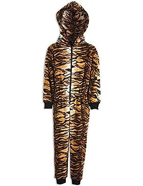 Pijama infantil de una pieza - Estampado de tigre