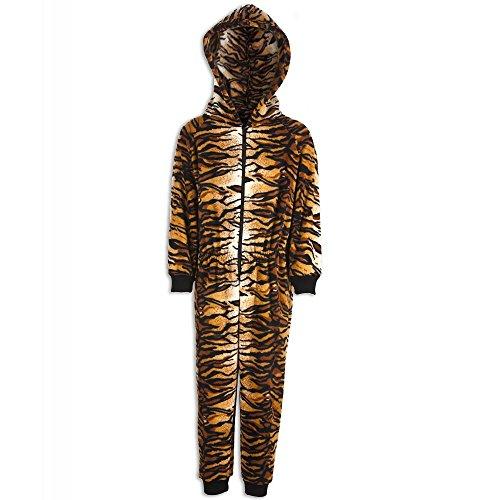 Combinaison pyjama - motif tigre - enfant 12-14 Years