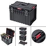 QBRICK BASIC 450 Werkzeugkoffer Werkzeugkasten Kiste Box Werkzeugbox Sortimentskasten 58x38cm Werkzeugkiste