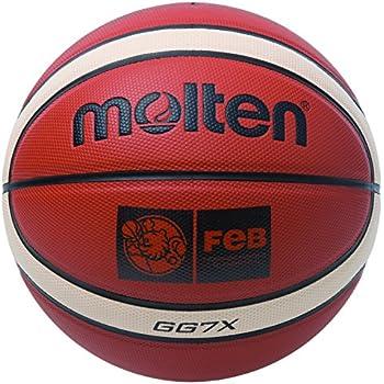 MOLTEN BGG7X Balón de Baloncesto, Hombre, marrón, 7: Amazon.es ...
