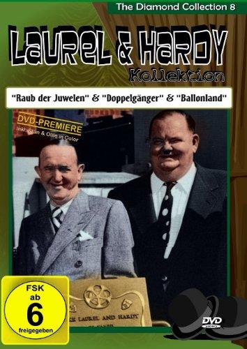 Preisvergleich Produktbild Laurel & Hardy - The Diamond Collection 8