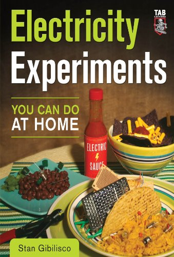 Electricity Experiments You Can Do At Home (English Edition)