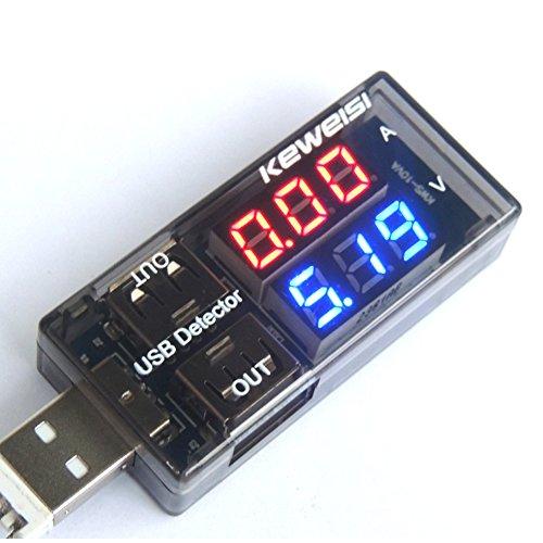 UEB Mini USB Multimeter Power Monitor Leistungsmesser/Leistungsmessgerät Digital Multimeter Amperemeter Spannung Detector 2009 Usb