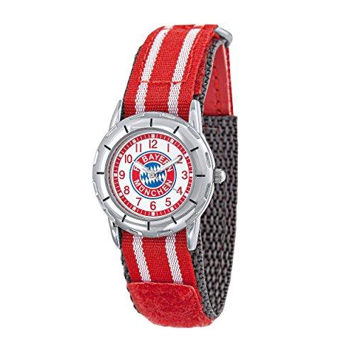 Reloj De Pulsera Infantil FC Bayern Múnich + Gratis Pegatinas München Forever, Reloj, Reloj de Pulsera, Watch Digital Watch, Watch Regarder